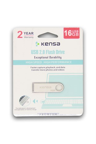 Kensa KF-16 Flash Bellek 16 GB USB 2.0